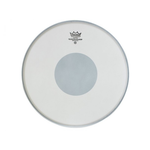 "Remo Controlled Sound Clear Dot 14"" Batter Coated"
