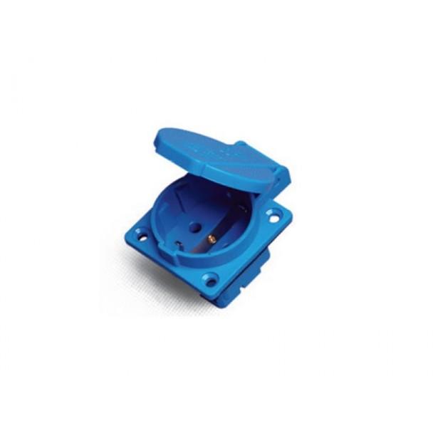 Erso Schuko PS3/16A (2719) BLUE