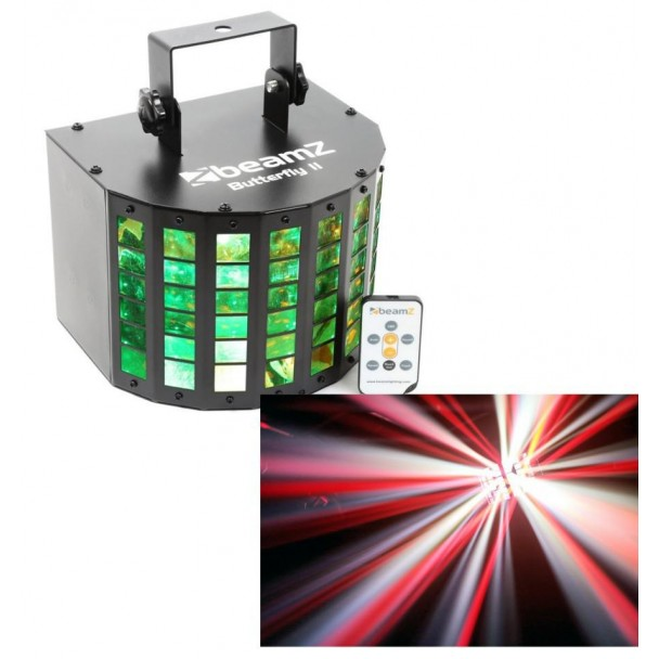 Beamz Butterfly II LED