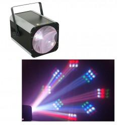 Beamz Revo 9 Burst Pro 187 LEDs