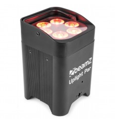 Beamz BBP96 Battery Par 6x12W