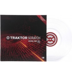 Native Instruments Traktor Scratch Vinyl MK2 Clear