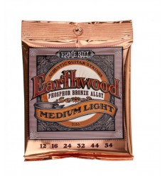 Ernie Ball 2146 Earthwood Phosphor Bronze M/L