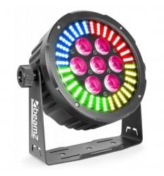 Beamz BAC502 7x12W RGBAWUV + 128x SMD RGB LED
