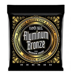 Ernie Ball 2566 ALUMINUM BRONZE MEDIUM LIGHT 12-54