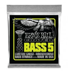Ernie Ball 3836 COATED 5 STRING SLINKY BASS 45-130