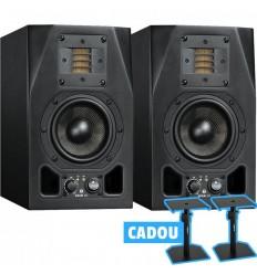 2 x Adam Audio A3X + Stative Vonyx SMS10 Cadou