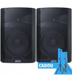 2 x ALTO TX212 + Set Stative Vonyx Cadou