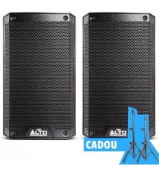2 x ALTO TS208 + Set Stative Vonyx Cadou