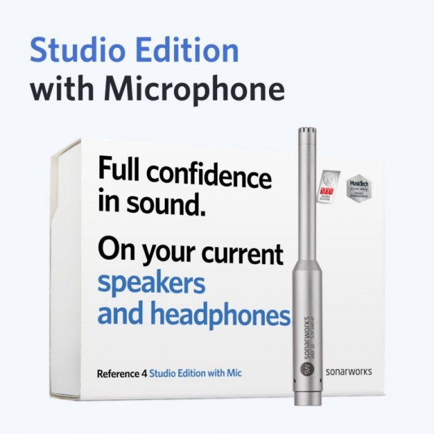 Sonarworks Reference 4 Studio Edition with Mic