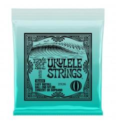 Ernie Ball 2326 Ukulele Ball End Nylon Strings Black